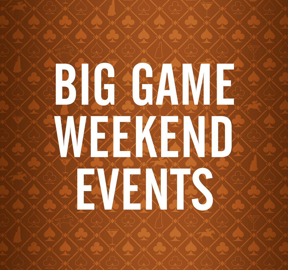 Big Game Weekend Events Intro